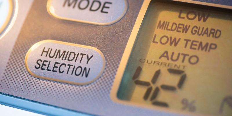 Dehumidifier controls