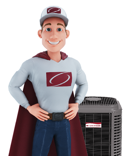 captain comfort with central air conditioner